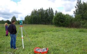 измерение земельного участка